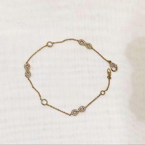 Nadri gold bracelet